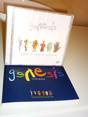 Genesis-dvd-the video show-con story book genesis-def collection - SIGILLATO NEW