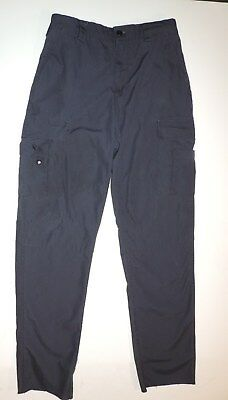 "Mens Med.30-33""w 36""l Tru-Spec Public Safety Emt Tactical Cargo Pants Navy Blue"
