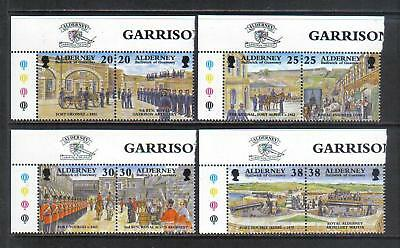 Alderney 1999 Island Garrison--Attractive Military History Topical (134-41) MNH