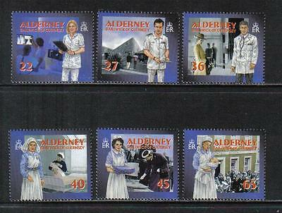 Alderney 2001 Community Health Services--Attractive Topical (164-69) MNH
