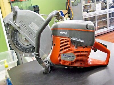 "WOW!! HUSQVARNA Model K760 14"" Gasoline Concrete Saw"
