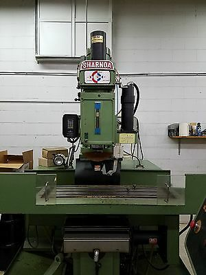 1991 SHARNOA CNC 3 AXIS WITH TIGER 5 CONTROL w/ Cyber Optics Laser Digitizer