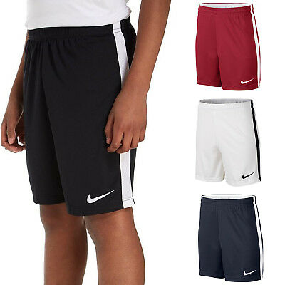Nike Boys Shorts Dry Junior Football Training Pants Running Kids Size S M L XL