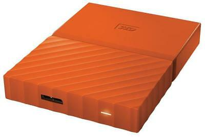 Wd - WDBYFT0030BOR-WESN - My Passport Usb 3.0 Portable Hard Drive, 3tb Orange