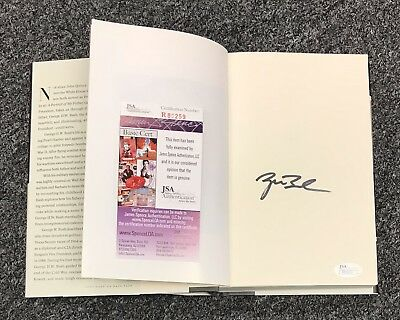 President George W. Bush Signed Portrait of my Father Book Autograph JSA COA