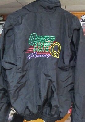 Vintage Quaker State Racing Jacket Embroidered Large