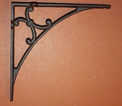Classic Cast Iron Shelf Brackets | Garden Cottage Corbels,9 1/4 Inch, B-50-