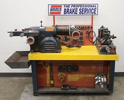 Ammco 4000 Drum & Disc Brake Lathe and 890 Shoe Grinder Combo Service Center