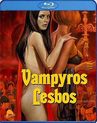 VAMPYROS LESBOS (Jess Franco) Blu-Ray BRAND NEW Free Ship USA Compatible