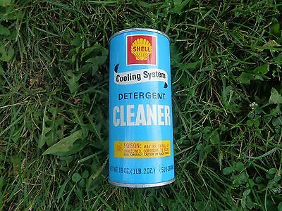 SHELL OIL CO COOLING SYSTEM CLEANER 18 OZ CAN Original NOS (New Old Stock)