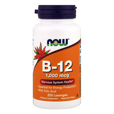 NOW FOODS Vitamin B-12 1000mcg 100 Lozenges - VITAMINE