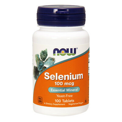 NOW FOODS Selenium 100 mcg 100 tablets Selenio - VITAMINE