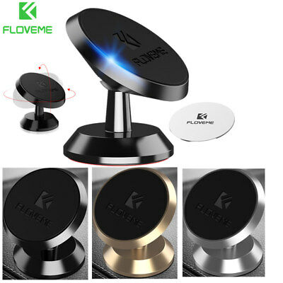 Universal 360 Degree Rotating Holder Car Magnetic Mount Stand For Cell Phone New