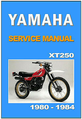 yamaha workshop manual xt250 for 1980 1981 1982 1983 1984 service rh picclick com 2013 Yamaha XT250 Test 2013 Yamaha XT250 Wallpaper