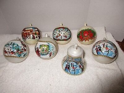 Vintage Jewelbrite By Decor Christmas Ornaments CAD 508