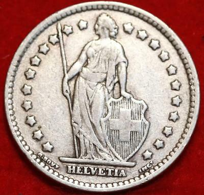 1931 Switzerland Franc Silver Foreign Coin Free S/H