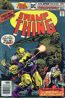 Swamp Thing (1st Series) #24 1976 VG/FN 5.0 Stock Image Low Grade