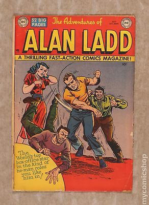 Adventures of Alan Ladd #7 1950 FR/GD 1.5