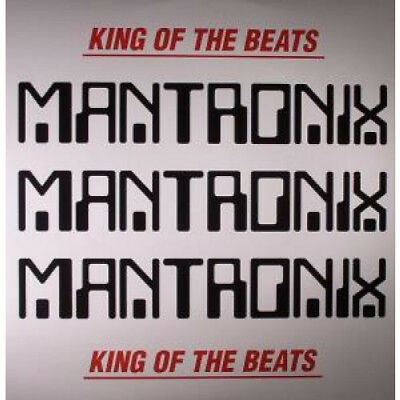 MANTRONIX King Of The Beats DOUBLE LP VINYL US Traffic 2012 13 Track Double LP