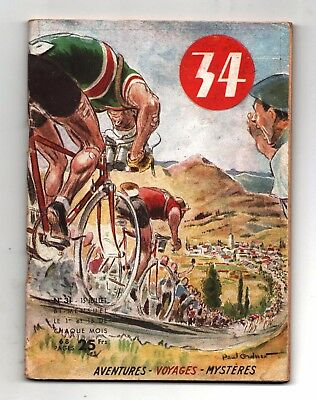 34 n°31  Editions Vaillant Juillet 1950. Tour de France / Cyclisme