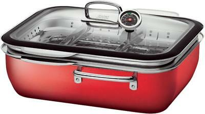 Silit Dampfgarer ecompact Red, 6,7 l
