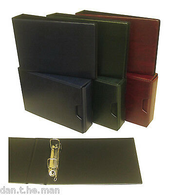 Glen 2 Ring Collectors Binder / Album - Optional Slipcase - Various Colours
