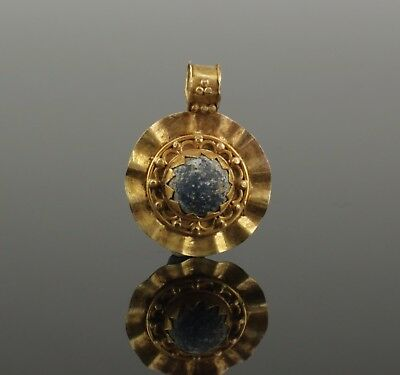SUPERB ANCIENT ROMAN GOLD PENDANT - 2nd Century AD