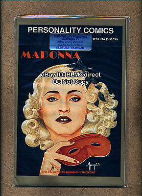 HTF 1991 Madonna #1 Capital Limited Edition Signed Palmiotti Personality Sealed