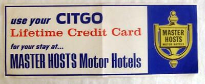 CITGO GAS CREDIT CARD ~ Vintage Advertising Poster