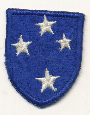 23rd Infantry Division Americal patch formation sign WWII white back US Army