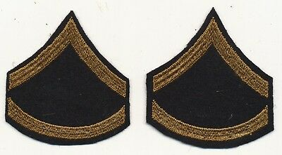 Specialist 6 Pre WWII US Army specialist rank like PFC rare matched pair chevron