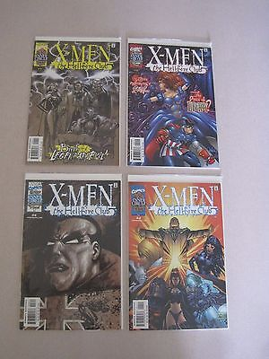 Marvel Comics X-Men The Hellfire Club #1-4 Complete Run Vf/nm