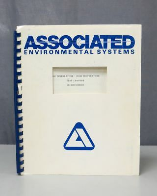 Associated Environmental Systems BK-1100 Series Test Chamber Inst Manual 0513