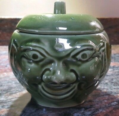 Vintage - Bassware - Face Pot - Apple Sauce