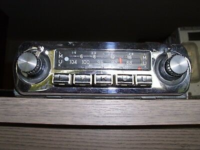 oldtimer blaupunkt frankfurt autoradio mit blende in. Black Bedroom Furniture Sets. Home Design Ideas