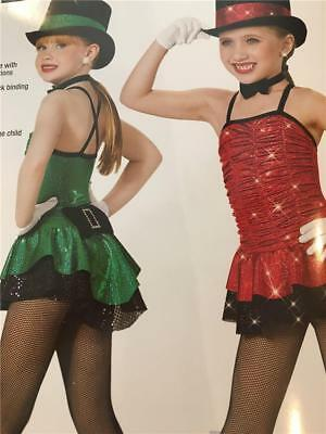 Christmas Dance Costume  Jazz Tap Skate Lets show them how