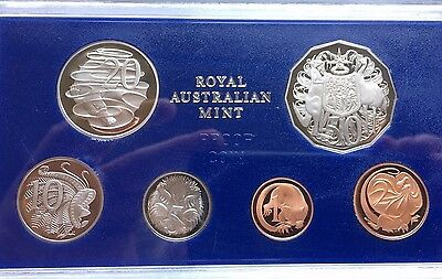 1983 Australia, Royal Mint Cameo Proof Set, 6 coins (28583)