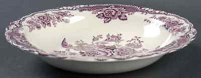 Crown Ducal BRISTOL MULBERRY Rimmed Soup Bowl 6447280