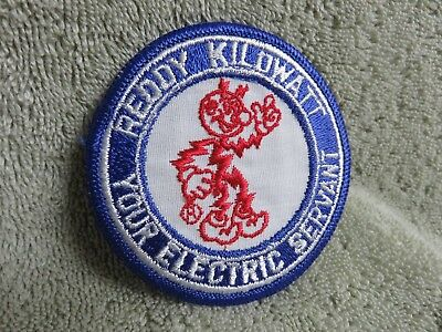 Vintage Reddy Kilowatt Round Sleeve Or Cap Patch