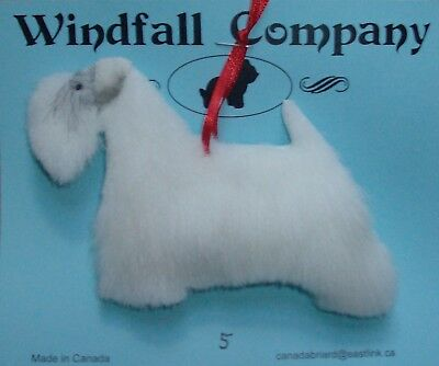 Sealyham Terrier Dog Soft Plush Canine Christmas Ornament #5 by WC