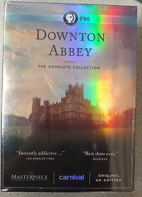 DOWNTON ABBEY the Complete Collection/Series on DVD 1-6 Season- Broken Case- New