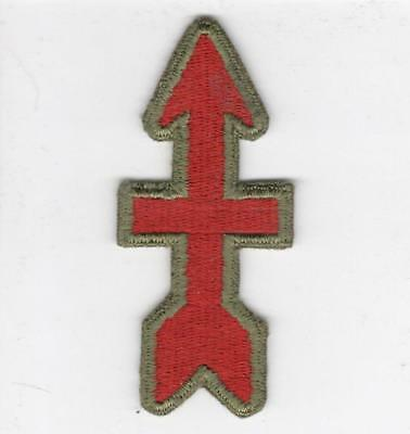 WW 2 US Army 32nd Infantry Division OD Border Greenback Patch Inv# B334