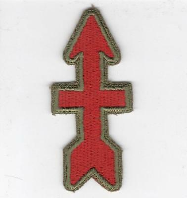 WW 2 US Army 32nd Infantry Division OD Border Greenback Patch Inv# B338