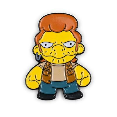 Kidrobot The Simpsons Enamel Pin Series 1 - Snake