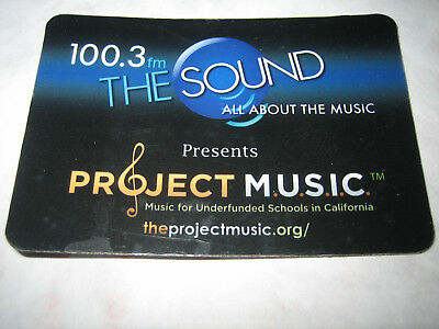 The Sound 100.3 Radio Station  Off The Air Magnet
