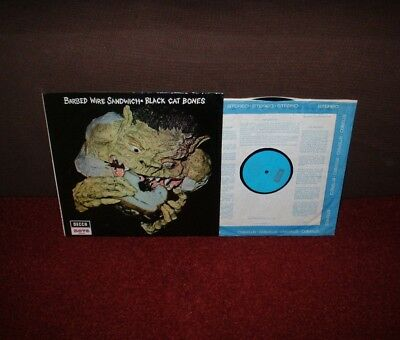 BLACK CAT BONES Barbed Wire Sandwich LP 1970 DECCA NOVA 1st Press!!!!