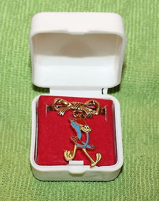 Nice Vintage Warner Bros. Roadrunner Hinge Back Pin Nos