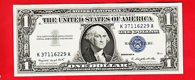 Series 1957 A       One Dollar Silver Certificate==Crisp Uncirculated
