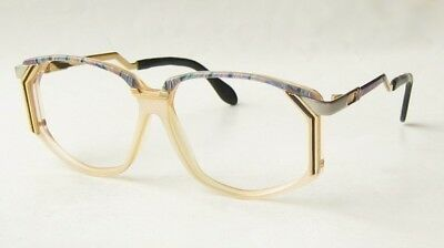 VINTAGE 80s CAZAL W.GERMANY CLEAR TURQUOISE SUNGLASSES EYEGLASSES GLASSES FRAME