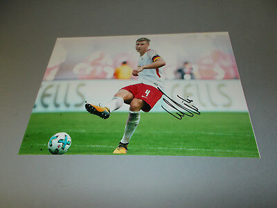 Willi Orban DFB  RB Leipzig signiert signed Autogramm 20x28 Foto in person